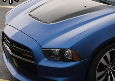 Deep Sea Blue SRT-8 Charger