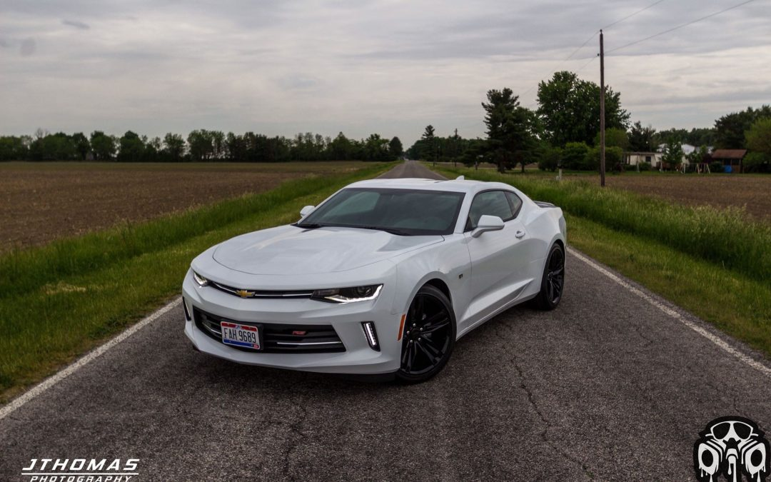 2016 Chevolet Camaro Halo EFX True Gloss Black Wheels and Spoiler