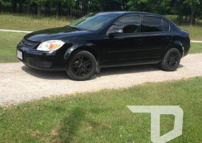 2008 Chevy Cobalt LS Matte Black Plasti Dip