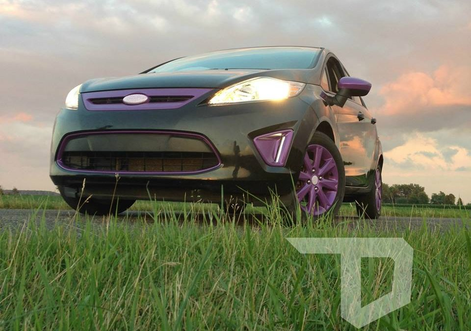 2011 Ford Fiesta Gloss Purple Accents