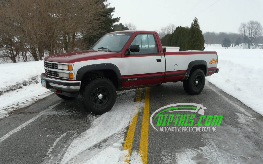 1994 Chevy K1500 Gloss Black Wheels