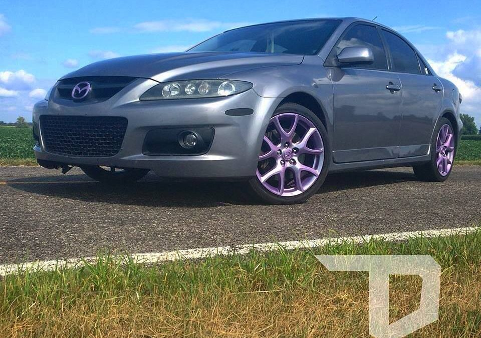 2007 Mazda Speed  6 Chameleon Plasti Dip Wheels and Accents