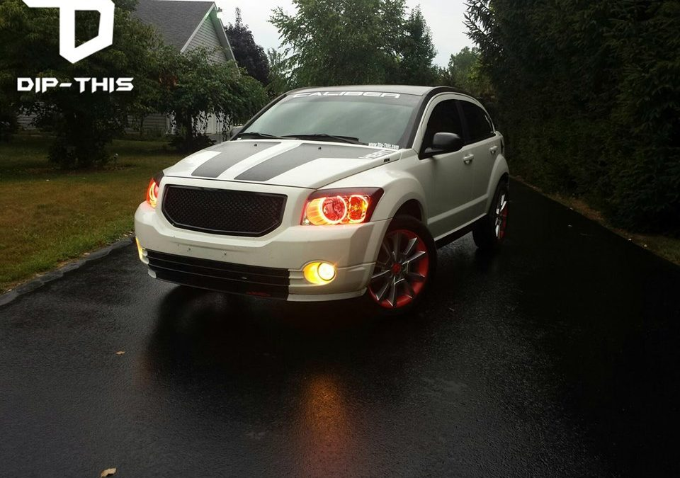 2012 Dodge Caliber Custom Wheel Dip