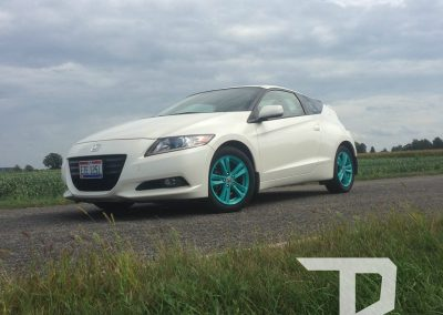 Honda CR-Z Satin Intense Teal Wheel Dip